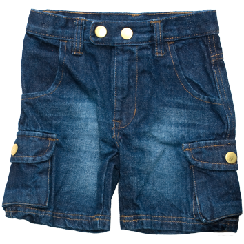 Boys Denim Shorts (2-7yrs 10 Pack)