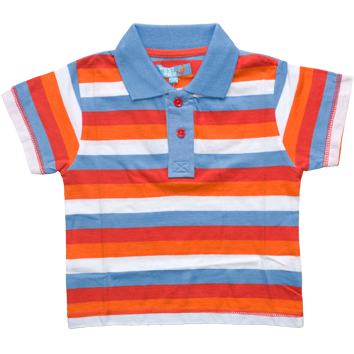 Boys Stripe Polo (6-23mnths 6 Pack) - (2-6yrs 6 Pack)