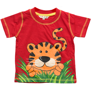Boys Tiger Print T-Shirts (6-23mnths 6 Pack) - (2-6yrs 6 Pack)