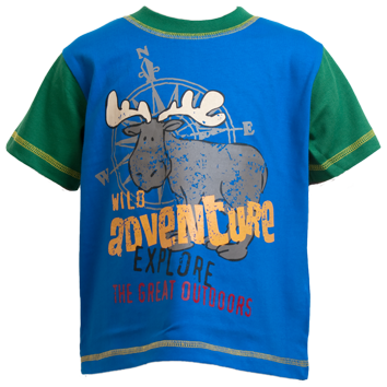 Boys Wild Adventure T-Shirts (6-23mnths 6 Pack) - (2-6yrs 6 Pack)