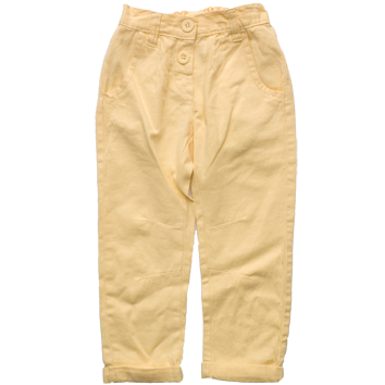 Girls Chino Jeans Lemon (2-7yrs 10 Pack)