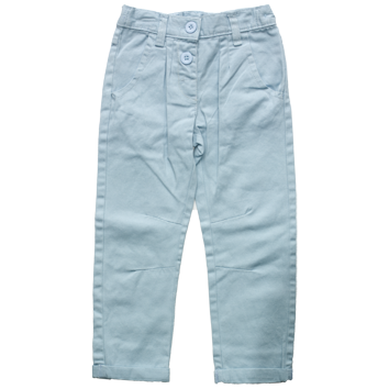 Girls Chino Jeans Pale Blue (2-7yrs 10 Pack)