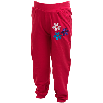 Girls Fleece Leggings - Cerise (6-23mnths 6 Pack) - (2-6yrs 6 Pack)
