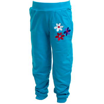 Girls Fleece Leggings - Teal (6-23mnths 6 Pack) - (2-6yrs 6 Pack)