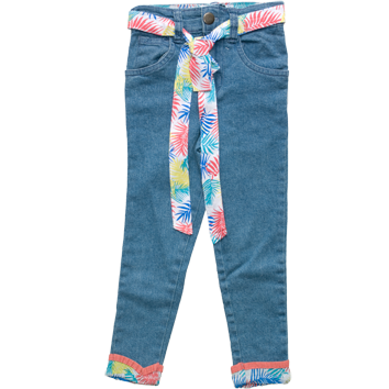 Girls Pale Wash Jeggings (2-7yrs 10 Pack)