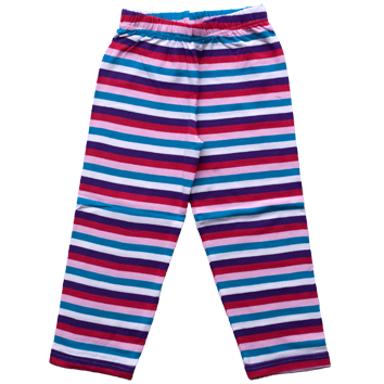 Girls Stretch Leggings - Pink (6-23mnths 6 Pack) - (2-6yrs 6 Pack)