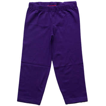 Girls Stretch Leggings - Purple (6-23mnths 6 Pack) - (2-6yrs 6 Pack)