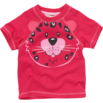 Leopard T-Shirts (6-23mnths 6 Pack) - (2-6yrs 6 Pack)
