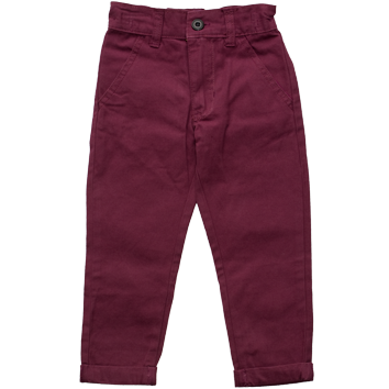 Boys Chino Jeans Purple (2-7yrs 10 Pack)